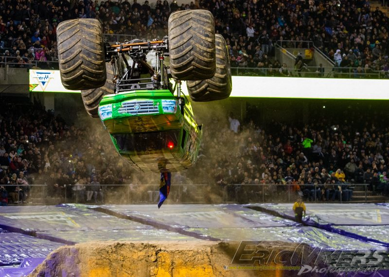 Jester Monster Truck - Oakland Monster Jam 2017