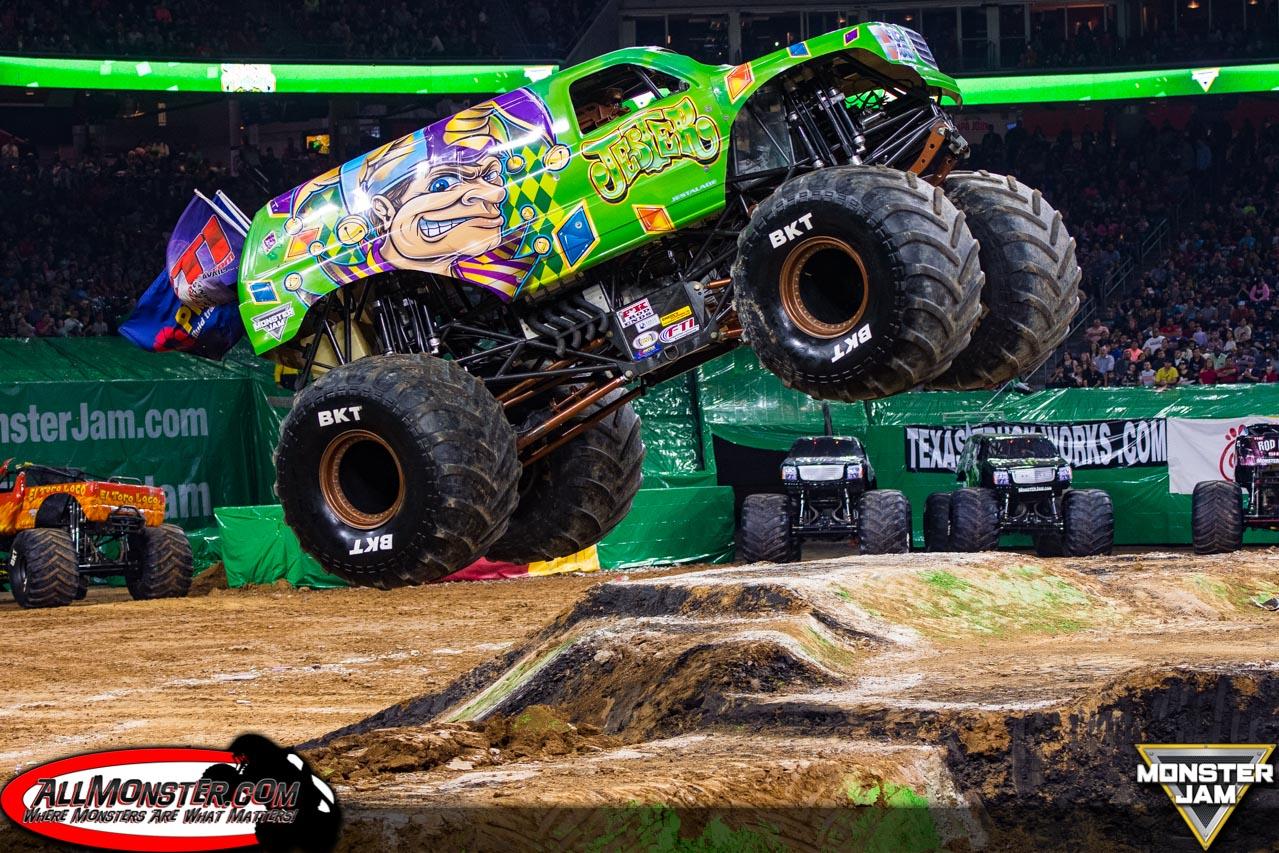 Houston Monster Jam Jester Monster Truck JesterMonsterTruck - Monster car show houston tx