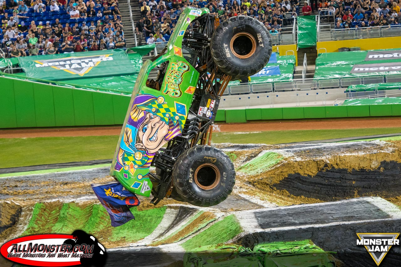 Miami Monster Jam 2018 | Jester Monster Truck